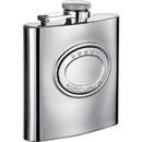 Visol 5 Stars 6oz Stainless Steel Hip Flask