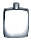 Visol Reflection Mirror Finish Stainless Steel Flask - 5 oz