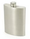 Visol Gleam Pewter Hip Flask - 6 oz