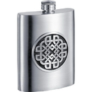 Visol Aragon Celtic Design Pewter Hip Flask - 6 oz