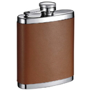 Visol Robert 7 oz Brown Leather Hip Flask