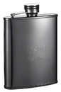 Visol Outlaw II Gunmetal Finish Flask - 6 oz