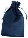 Visol Navy Blue Velvet Bag for Flask