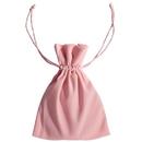Visol Pink Velvet Pouch for 4 oz Flasks