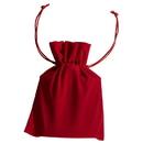 Visol Red Velvet Pouch for 4 oz Flasks