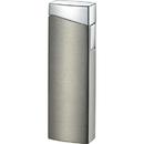 Visol CamiNo Satin Gun Metal Wind-Resistant Jet Flame Lighter