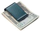 Visol Green Carbon Fiber Money Clip