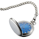 Visol Lazuli Japanese Quartz Pocket Watch