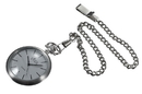 Visol Presley Silver Dial Stainless Steel Quartz Pocket Watch