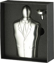 Visol Tuxedo Satin Stainless Steel 6oz & Funnel Gift Set