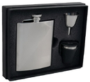 Visol Duo Two-Tone 8oz Deluxe Flask Gift Set