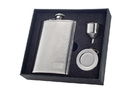 Visol Pixel Stainless Steel 8oz Stellar Flask Gift Set