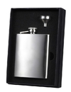 Visol Barbados Stainless Steel Flask and Funnel Gift Set