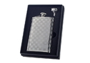 Visol Mate Checkered 8oz Flask Gift Set
