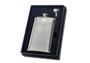 Visol Mark Knit Design Stainless Steel 8oz Flask Gift Set