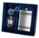 Visol Viking Pewter Hip Flask Gift Set - 6 oz