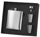 Visol 8 oz Stainless Steel Flask Gift Set