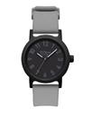 Vestal ALP3P07 Alpha Bravo Plastic Watch - Grey/Black