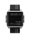 Vestal DIG009 Digichord Watch - Black/White/Black