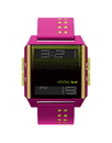Vestal DIG030 Digichord Watch - Hot Pink/Yellow
