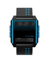 Vestal DIG033 Digichord Watch - Black/Blue/Negative