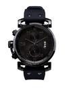 Vestal OBCS014 USS Observer Chrono Watch - Black/Polished