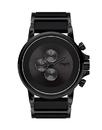 Vestal PLA017 Plexi Acetate Watch - Black/Black/Black/Minimalist