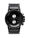 Vestal PLA025 Plexi Acetate Watch - Black/Silver/Polished/Minimalist