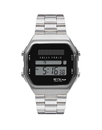 Vestal SYNDM02 Syncratic Solar Watch - Silver/Brushed