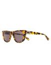 Vestal VVSJ018 St Jane Sunglasses - Black-Gold Tortoise/Blue Mirror