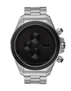 Vestal ZR3024 ZR3 Minimalist Watch - Brushed Silver/Silver/Black