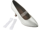Very Fine Clear Elastic Shoe Straps