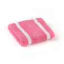 GOGO 12PCS Narrow Striped Sweatbands Terry Cloth Wristband
