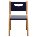 """Whitney Brothers CR2512S Whitney Plus 12"""" Scandinavian Blue Chair"""