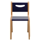 """Whitney Brothers CR2514S Whitney Plus 14"""" Scandinavian Blue Chair"""