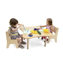 Whitney Brothers WB0181 Toddler Flower Table And Two Chair Set