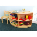 Whitney Brothers WB0655 Curved Storage: Back Curve In