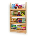 Whitney Brothers WB2113 Wall Mounted Book Shelf