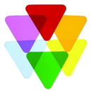 Whitney Brothers WB7724T Color Wheel Triangles - Set Of Six