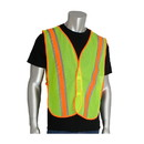 West Chester 300-0900 PIP Non-ANSI Two-Tone Mesh Safety Vest