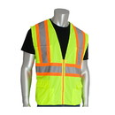 West Chester 302-MAP PIP ANSI Type R Class 2 Two-Tone Eleven Pocket Premium Solid Surveyors Vest