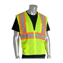 West Chester 302-MVZP PIP ANSI Type R Class 2 Two-Tone Six Pocket Mesh Vest