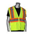 West Chester 302-MVZT PIP ANSI Type R Class 2 Two-Tone Six Pocket Mesh Vest