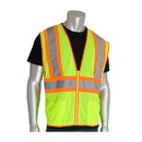 West Chester 302-MV PIP ANSI Type R Class 2 Value Two-Tone Mesh Vest