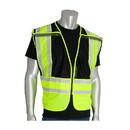 West Chester 302-PSV-BLK-NL PIP ANSI Type P Class 2 Public Safety Vest