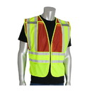 West Chester 302-PSV-RED-NL PIP ANSI Type P Class 2 Public Safety Vest