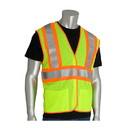 West Chester 305-MVFR PIP ANSI Type R Class 2 FR Treated Two-Tone Mesh Vest