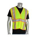 West Chester 305-USV5FR PIP ANSI Type R Class 2 Two-Tone Expandable FR Treated Mesh Vest