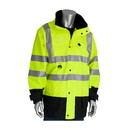 West Chester 343-1756 PIP ANSI Type R Class 3 7-in-1 All Conditions Coat with Inner Jacket and Vest Combination