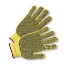 West Chester PVC-Dotted on Both Sides 100% Kevlar Gloves